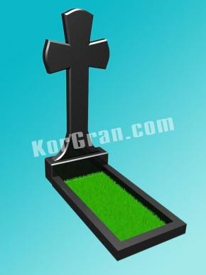 Гранитный крест K_701