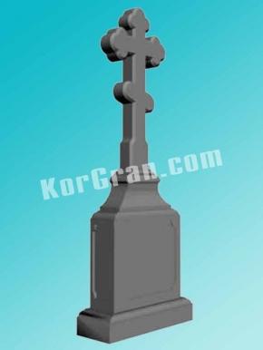 Гранитный крест K_707