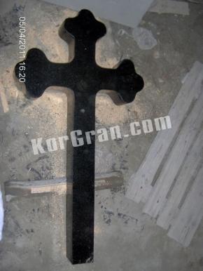 Гранитный крест K_718