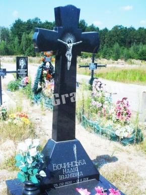 Гранитный крест K_741