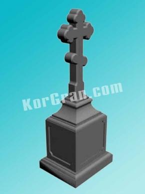 Гранитный крест K_708