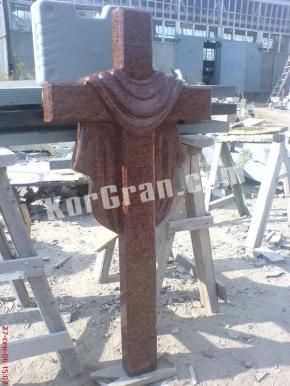 Гранитный крест K_719