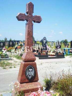 Гранитный крест K_729