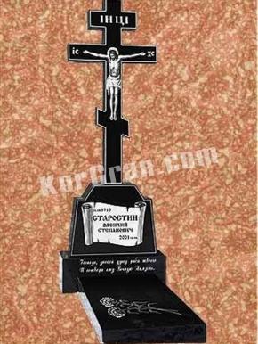 Гранитный крест K_753