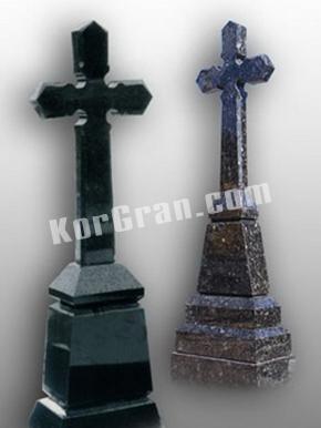 Гранитный крест K_763